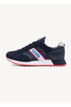 COLMAR TRAVIS RUNNER 031 Sneakers Uomo Stringate Blu Sneakers CLTRAVISRUNNER031