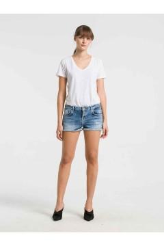 LTB 60136 JUDIE Zinnia Wash Pantaloncini Jeans Donna Blu Pantaloni e Shorts LTB60136BLU