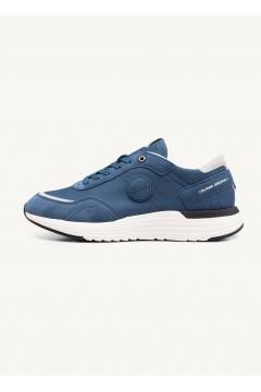 COLMAR DARREN TONES 208 Sneakers Uomo Stringate Blu Sneakers CLDARRENTONES208