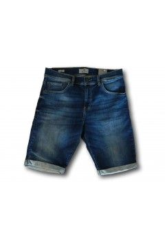 LTB 60781 NESTOR Blue Aster Wash Pantaloncino Jeans Uomo Blu Denim Pantaloni e Shorts LTB60781BLUDEN