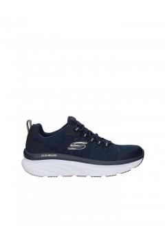 SKECHERS 232045 D'Lux Walker Pensive Scarpe Uomo Slip On Sneakers Memory Foam Blu Scarpe Sport 232045NVY