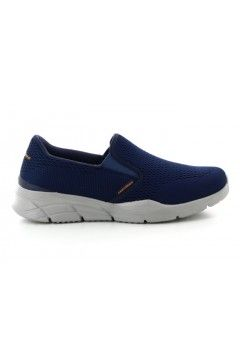 SKECHERS 232016 Equalizer 4 NVOR Scarpe Uomo Slip On Sneakers Memory Foam Blu Scarpe Sport 232016NVOR