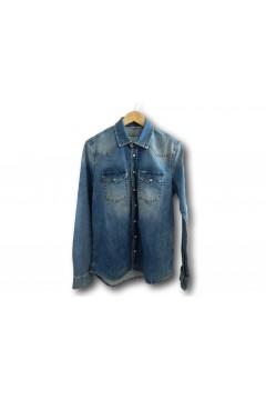 LTB 60475 Rohan Vista Wash Camicia di Jeans Uomo Light Denim Polo e Camicie LTB60475LD