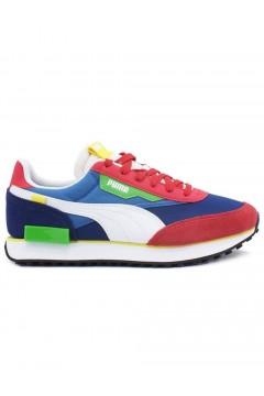 Puma 371149 35 FUTURE RIDER PLAY ON Scarpe Uomo Sneakers Soft Foam Multicolor Scarpe Sport P37114936MUL