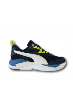 Puma 374393 10 X-Ray Lite JR Scarpe Ragazzo Sneakers Stringate Blu Scarpe Bambino P37439310BLU