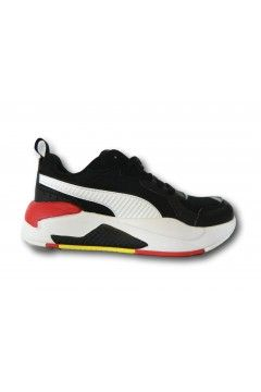 Puma 306697 03 FERRARI RACE X-RAY JR Scarpe Ragazzo Sneakers Stringate Nero Scarpe Bambino P30669703NR