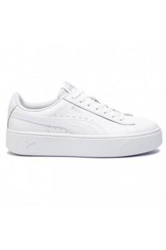Puma 369143 02 Vikky Stacked L Scarpe Donna Sneakers Platform Bianco  Francesine e Sneakers P36914302BIA