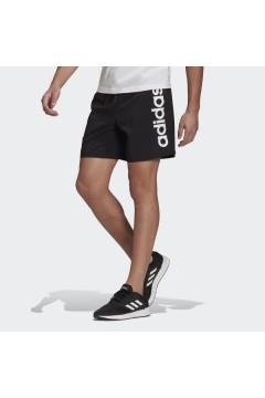 Adidas GK9607 Short AEROREADY Essentials Chelsea Linear Logo Nero Pantaloni e Shorts GK9607
