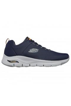 SKECHERS 232200 NVY Scarpe Uomo Sneakers Memory Foam Arch Fit Blu Scarpe Sport 232200NVY