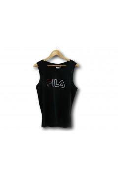 Fila 687138 Pawel Tank Canotta Uomo Nero T-Shirts FL687138002