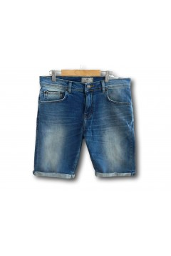 LTB 60781 NESTOR Skydiver Wash Pantaloncino Jeans Uomo Blu  Pantaloni e Shorts LTB60781BLU
