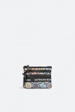 Gattinoni Roma BENTF7688WIPM06 Flat Beauty Nylon Easy Chic Multicolor Borse BENTF7688WIPM06