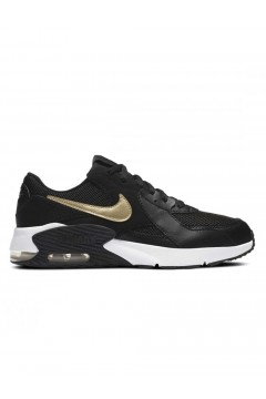 Nike CD6894 006 Air Max Excee GS Nero Gold Francesine e Sneakers CD6894006