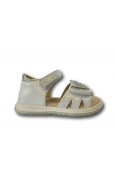 Beppi 2184351 Scarpe Bambina Sandali Primi Passi con Fascia Regolabile Bianco Scarpe Bambina 2184351BIA