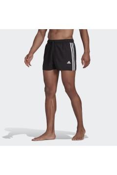 Adidas GQ1095 Costume da Bagno Short Classic 3-Stripes Nero Pantaloni e Shorts GQ1095