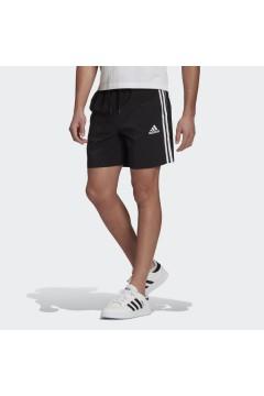 Adidas GL0022 Short AEROREADY Essentials Chelsea 3 - Stripes Nero Pantaloni e Shorts GL0022