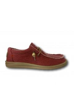 ROCCOBAROCCO RB318.5 Scarpe Uomo Mocassini Slip On Canvas Rosso Sneakers RB3185RS