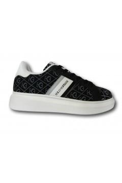 Solo Soprani PS1 Scarpe Donna Sneakers Stringate Nero Francesine e Sneakers SSPS1NR