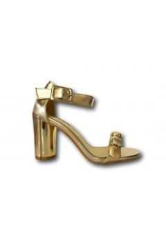Solo Soprani VAN01 Scarpe Donna Sandali Tacco Medio Rosa Gold Sandali SSVAN01RS