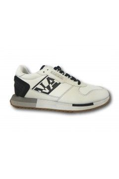 Napapijri NP0A4ES201A1 Virtus 01 LES Sneakers Uomo Stringate White Navy  Sneakers NP0A4ES201A1