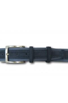 Made in Italy 040 Cintura Camoscio Uomo 4 cm in Vera Pelle Jeans Cinture CTU040JNS
