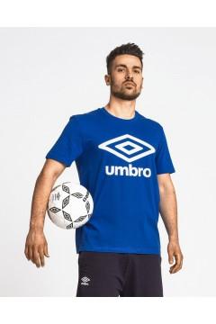 Umbro RAM127B T-Shirt Uomo in Cotone con Logo Blu Royal T-Shirts RAM127BRY